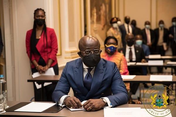 Secretary to the President, Nana Bediatuo Asante on Holiday Inn Hotel