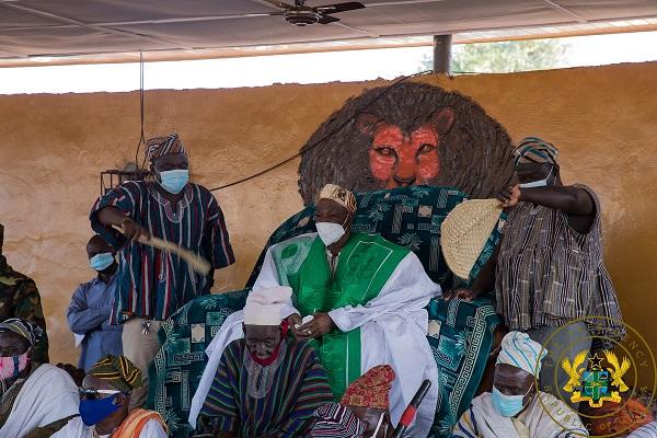 Ya Naa Abukari II, Overlord of Dagbon