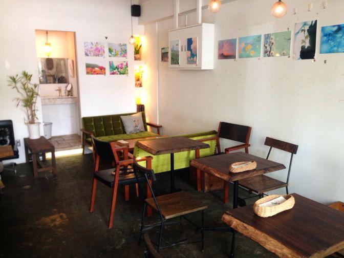 ケヤキカフェの店内内装