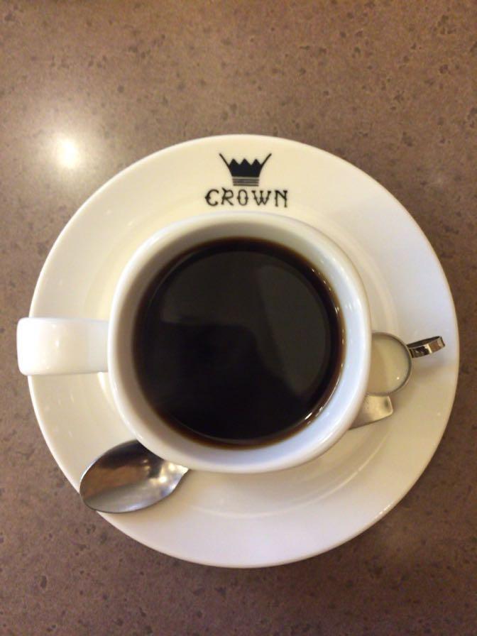 CROWNのコーヒー