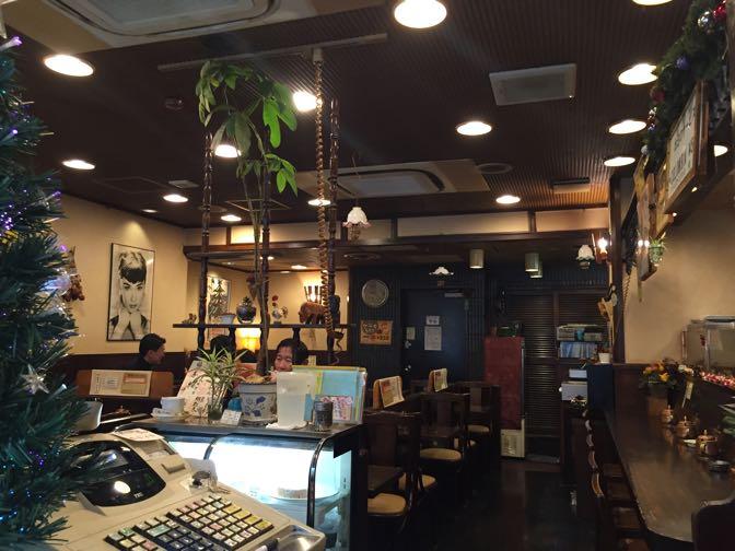 イトーヤ コーヒー店内
