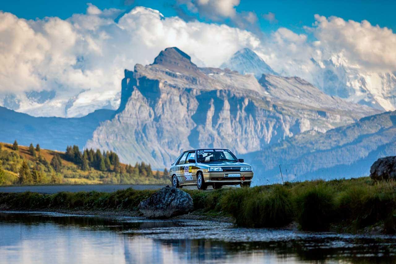 Emmanuel CRISTOPH au rallye du Mont Blanc