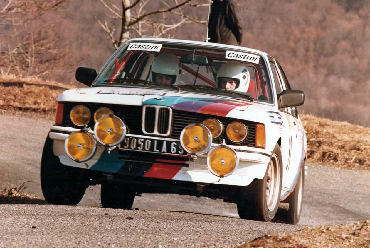 Viviane BONNARDEL copilote de Patrick GIBOULET sur BMW