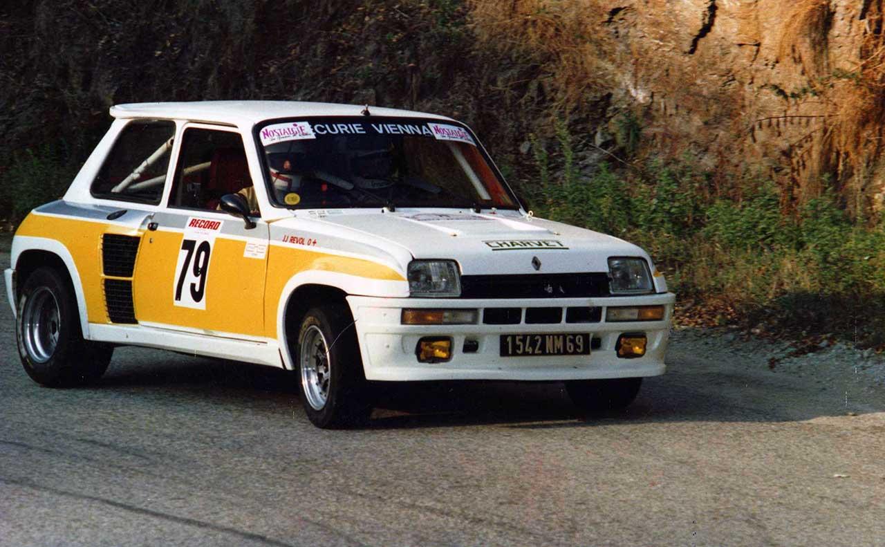 Jean-Jacques REVOL, copilote sur R5-Turbo