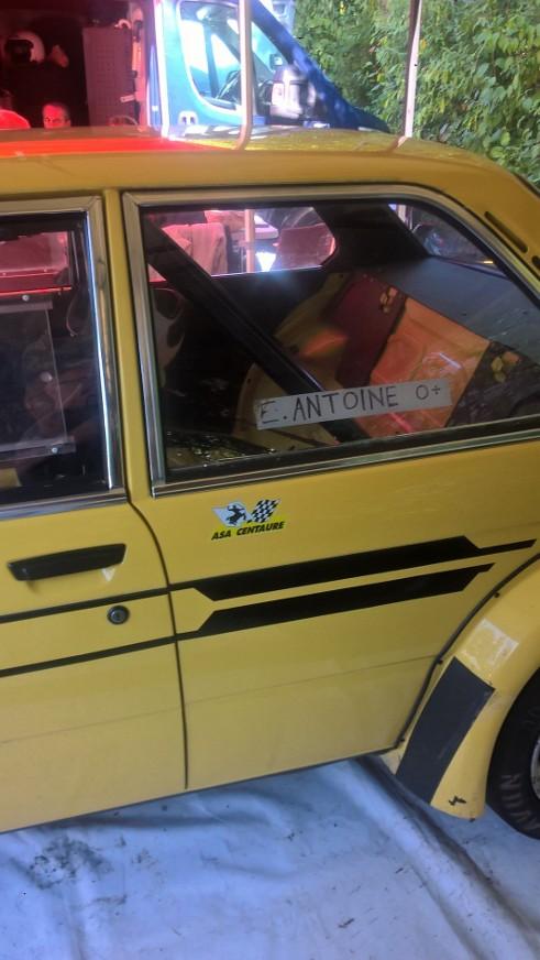 Eddy ANTOINE sur BMW 323i
