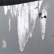 Tidig skymningsstund /Early twilight. Åsa Chambert. Screentryck/Screen print. 20 x 20 cm.