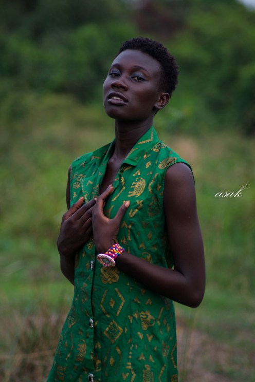 black and proud shoot with Vanessa Antwi