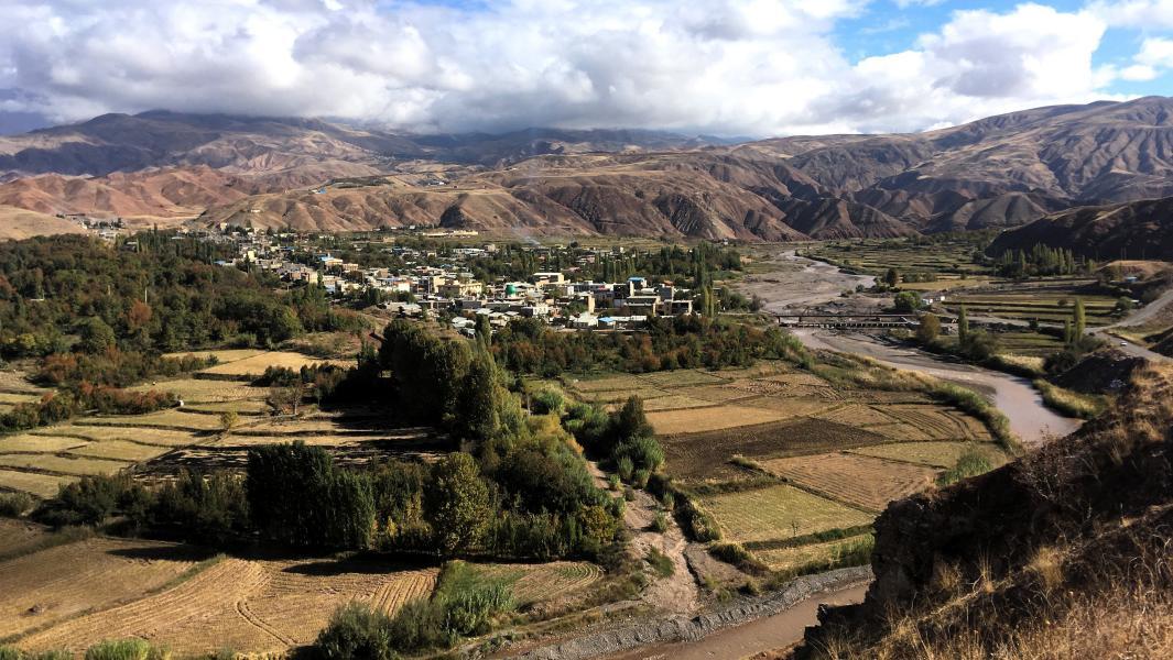 Vistas del Valle de Alamut