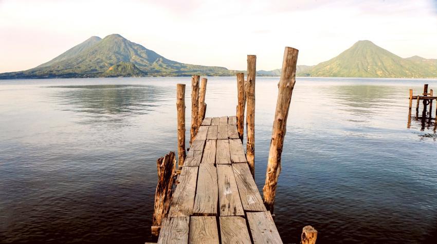 Guatemala Viajar al lago Atitlán