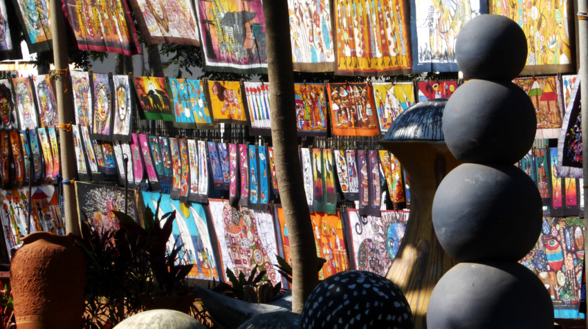 Maputo - Feria do Artesanato