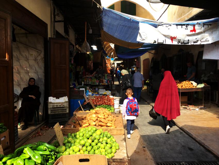 Mercado puble líbano
