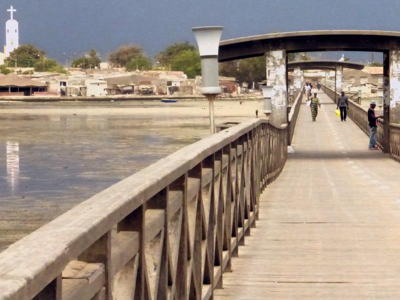 Puente de Entrada Isla de las Conchas