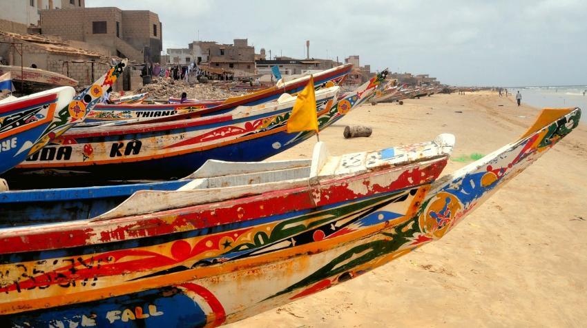 Playa en Dakar