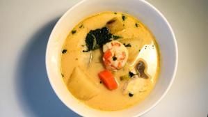 receta sopa de marisco, sopa de caracol