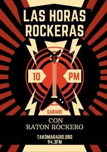 Las Horas Rockeras @ takoma radio | Washington D. C. | Distrito de Columbia | Estados Unidos