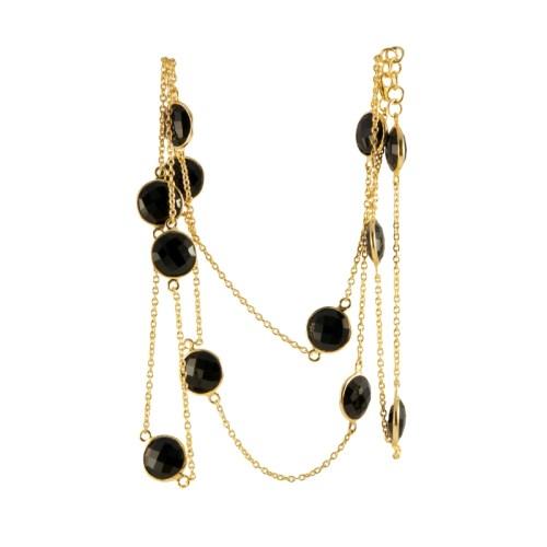Halsband Carmen Golden Nuit