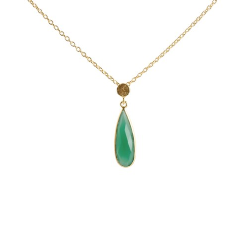 Halsband Sonja Golden Green