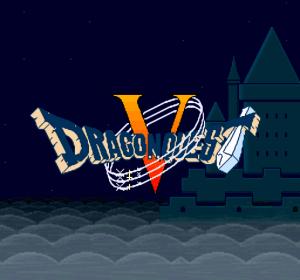 ドラゴンクエスト5(スーパーファミコン版) タイトル画面
