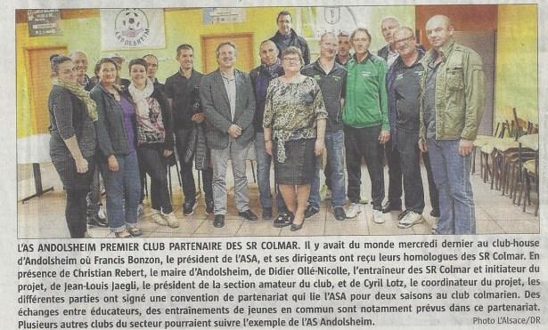 L'Alsace Partenariat SRC 13102015