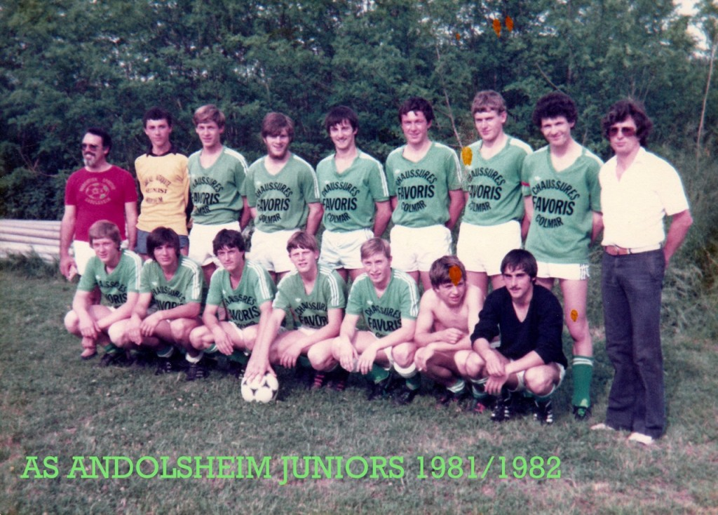 As Andolsheim Juniors 1981 1982