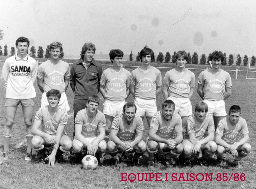 As Andolsheim Séniors 1 1985:1986