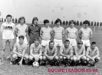 As Andolsheim Séniors 1 1985 1986