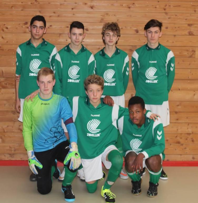 As andolsheim U 15 championnat futsal 1