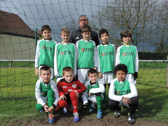 U 11 B As Andolsheim Saison 2015-2016 Cycle Retour