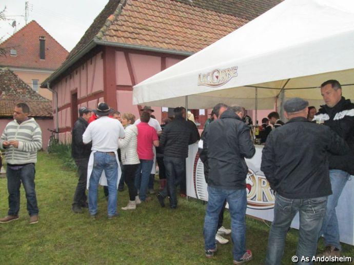as andolsheim Sanglier à la broche 00071