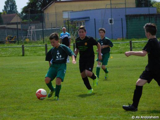 as andolsheim U 13 B vs Colmar Unifié 00010