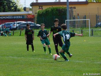 as andolsheim U 13 B vs Colmar Unifié 00013