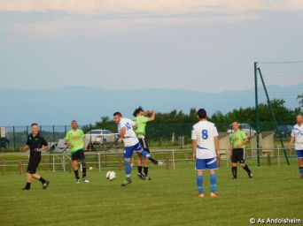 as andolsheim veterans vs Gendarmerie 00034
