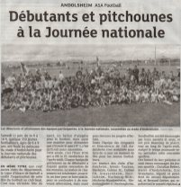 article Dna Journée nationale débutant