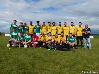 U 18 vs Selection Séniors