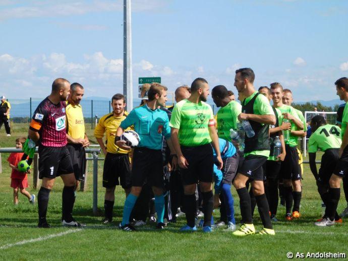 Coupe d'Alsace As Andolsheim Vs As Winzenheim 0