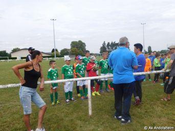 As Andolsheim Tournoi de rentree U 11 FC Horbourg wihr 85