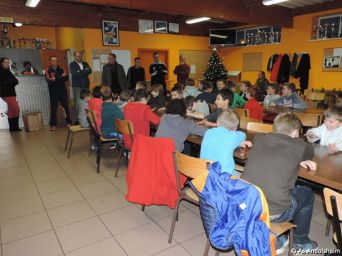 AS Andolsheim fete Noel des U 11 16