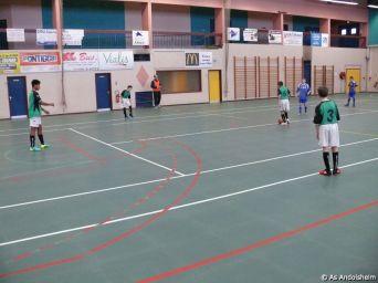 as andolsheim U 15 A tournoi en salle Fc Horbourg Wihr 4
