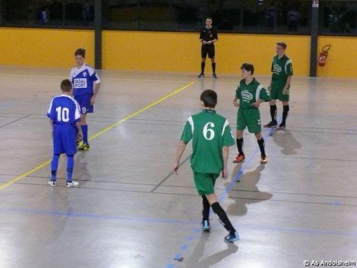 as andolsheim U 15 Promo Tournoi en salle ASC Biesheim 12