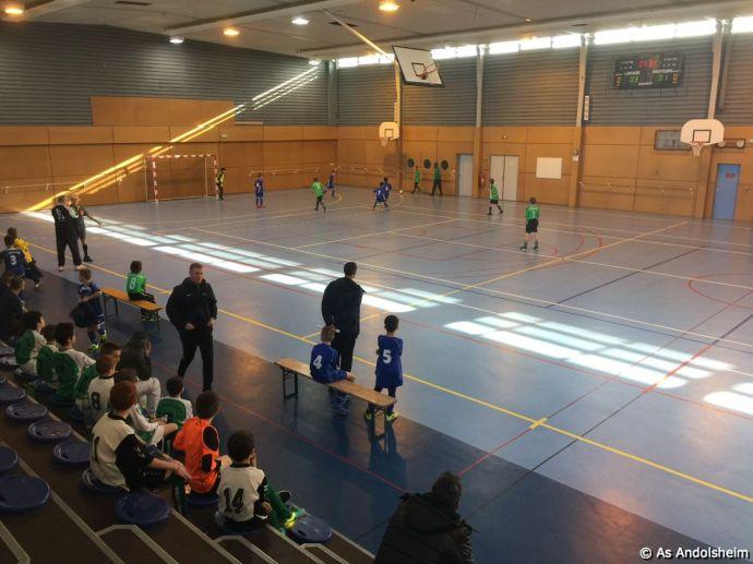 As Andolsheim tournoi en salle 2017 Day one 6