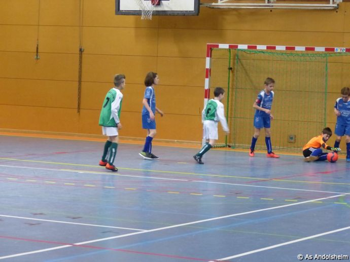 as andolsheim U 11 tournoi en salle AS Wintzenheim 10