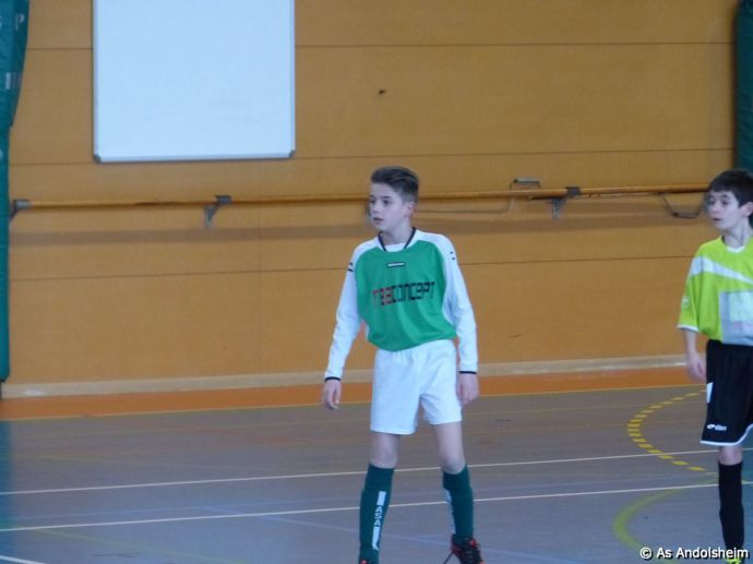 as andolsheim U 11 tournoi en salle AS Wintzenheim 21
