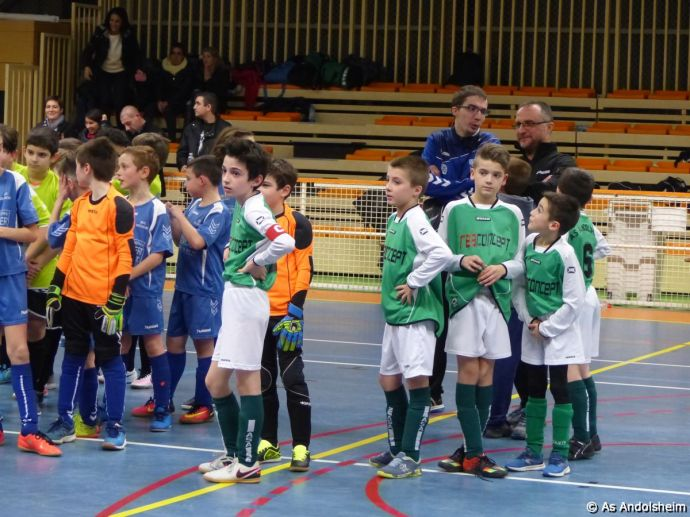 as andolsheim U 11 tournoi en salle AS Wintzenheim 3