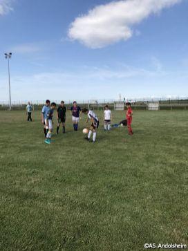 as andolsheim reprise entrainement Ecole de foot00008