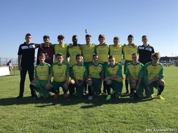 AS ANDOLSHEIM U 18 A Saison 2017 2018