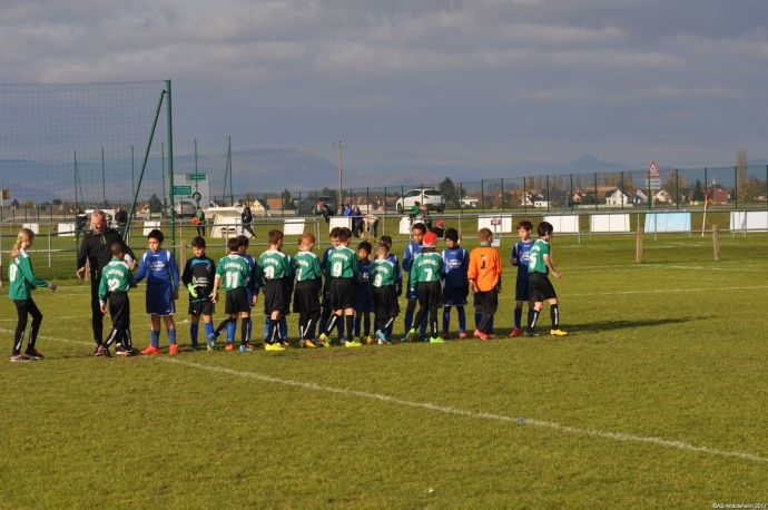 AS Andolsheim 1 U 11 VS FC Horbourg 3 00000