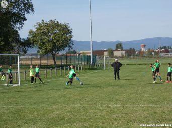 as andolsheim U 11 rentrée du foot 2018 00011