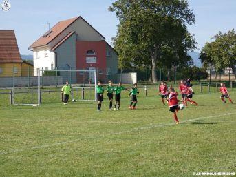 as andolsheim U 11 rentrée du foot 2018 00032