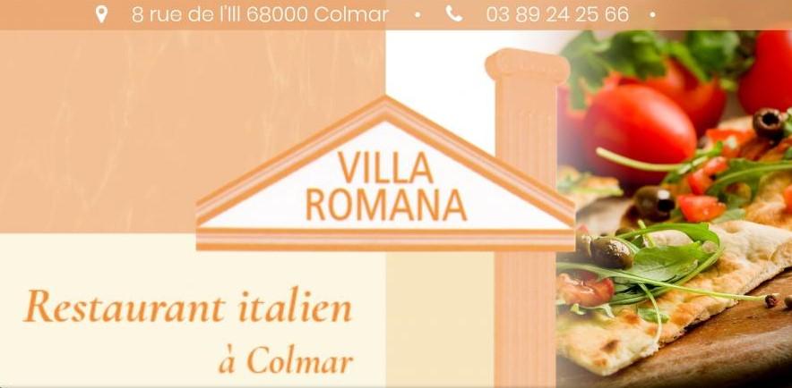 ASA Carte de visite Villa Romana