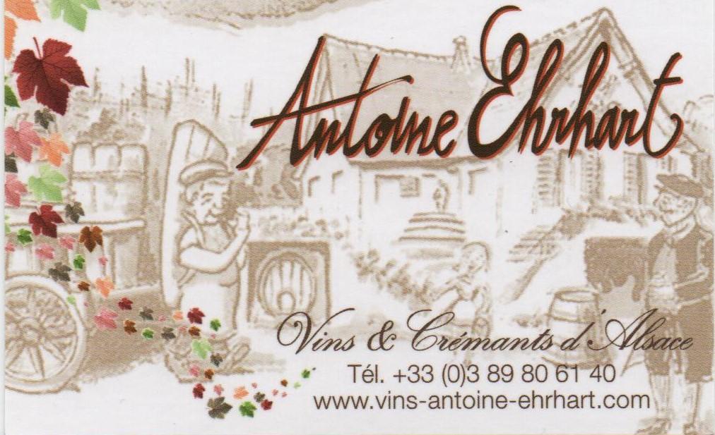 ASA Carte de visite Vins d'Alsace Antoine EHRHART